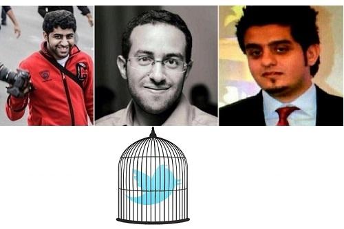 Left to right: Hussain Hubail, Mohamed Hasan, AbdulAziz Mosa