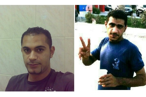Left: Mahmood AlMansi , Right: Mohammed AlMansi