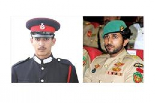 Nasser and Khalid bin Hamad Al-Khalifa (King's sons)