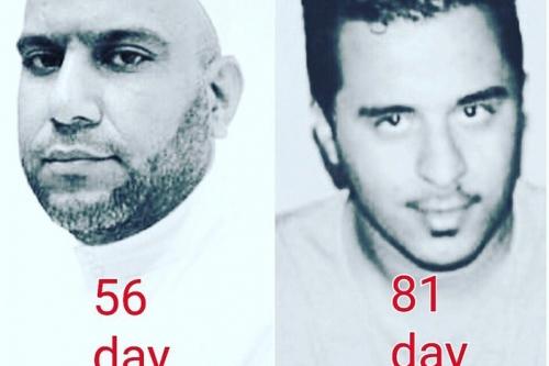 اليمين: سيد فاضل عباس، اليسار: سيد علوي حسين