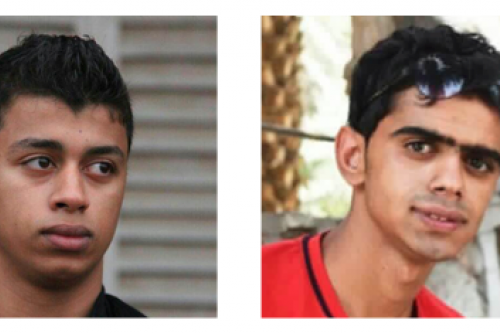 Sadiq Abdulameer Alqamar (left) and Mohamed Hasan Buhmaid (right)