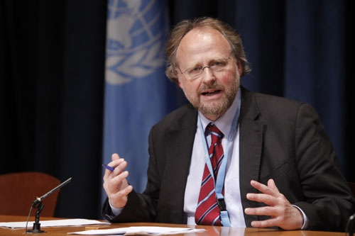 Special Rapporteur on freedom of religion or belief Heiner Bielefeldt