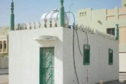 Abou Thir Al Ghiffari mosque, after renewal and before demolition