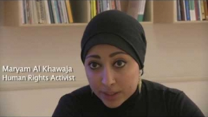 "Maryam Al Khawaja on Bahrain's ""inconvenient revolution"""